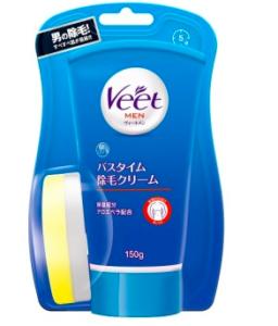 脱毛クリーム市販-ヴィート(Veet)MENバスタイム除毛クリーム敏感肌用