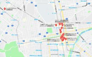 札幌脱毛マップ
