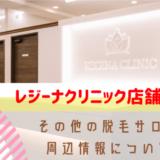 レジーナクリニック(レジクリ)は茨城に店舗がある?店舗情報や茨城の医療脱毛情報を紹介