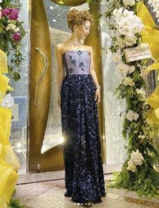 エンリケ引退式2日目ドレス-アルマーニ