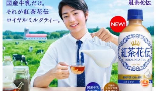伊藤健太郎が紅茶花伝のCMに出演!熱心なミルクティー開発担当者に!